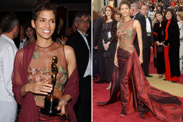 Halle Berry's Dress for Oscar 2002