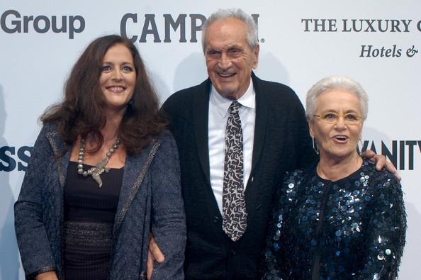 Angela, Ottavio and Rosita Missoni