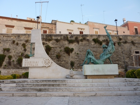 Monument dedicated to all the mariners of Italy